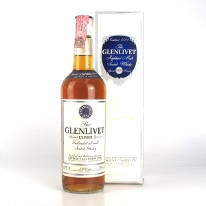 Glenlivet Special Export Reserve 1960s / Baretto Import
