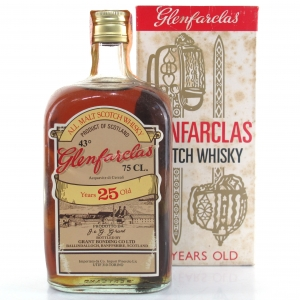 Glenfarclas 25 Year Old 1980s / Pinerolo Import