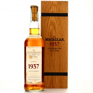 Macallan 1937 Fine and Rare 37 Year Old
