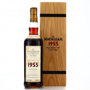 Macallan 1955 Fine and Rare 46 Year Old