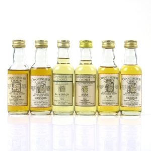Miscellaneous Gordon and MacPhail Miniatures 6 x 5cl / Including Brora 1982