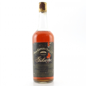 Gibson's 7 Year Old Kentucky Straight Whisky 1970s