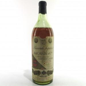Bacardi Superior Cuban Rum circa 1940s