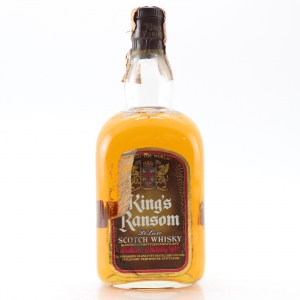 King's Ransom Scotch Whisky 1980s