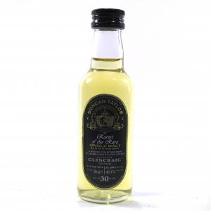 Glencraig 1974 Duncan Taylor 30 Year Old Miniature 5cl