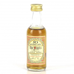 MacPhail's 1937 Gordon and MacPhail 50 Year Old Miniature 5cl / Macallan