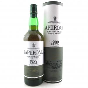 Laphroaig 1989 Vintage 23 Year Old