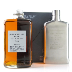 Nikka Whisky From The Barrel 50cl with Hip Flask