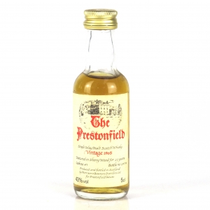 Bowmore 1965 Prestonfield 22 Year Old 5cl Miniature