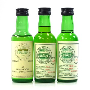 Closed Lowland SMWS Miniature Selection 3 x 5cl