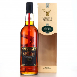 Macallan 1972 Gordon and MacPhail Speymalt