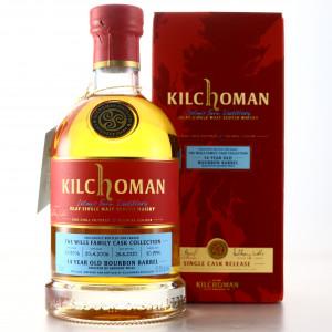 Kilchoman 2006 Single Bourbon Cask 14 Year Old / Wills Family Cask