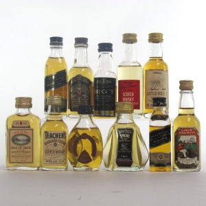 Blended Scotch Miniature Selection x 11