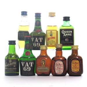 Blended Scotch Miniature Selection x 9