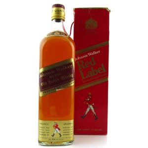 Johnnie Walker Red Label Quart 1960/70s
