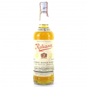 Reliance 5 Year Old Scotch Whisky 1980s