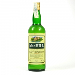 MacHill Extra Fine Blended Scotch Whisky Front