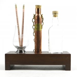 Balvenie Stand, Bottle and Glass with SMWS Pencils