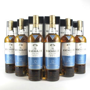 Macallan 12 Year Old Fine Oak - Nick Veasey Pillars Collection 6 x 70cl