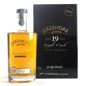 Greenore 1990 Single Cask 19 Year Old Irish Single Grain / Dublin Airport Exclusive