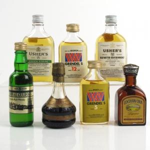Miscellaneous 1970s Miniature Selection x 7 / Including Royal Culross