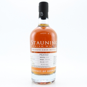 Stauning 2015 Peat Smoked Private Cask #287 50cl