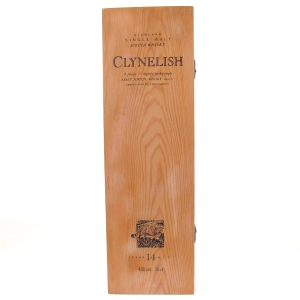 Clynelish 14 Year Old Flora and Fauna Box / Wooden Box NO BOTTLE