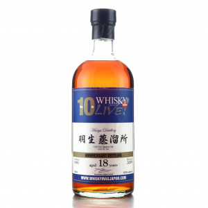 Hanyu 1991 Single Mizunara Cask 18 Year Old #369 / Whisky Live 10th Anniversary