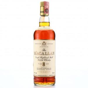 Macallan 8 Year Old 1980 / Rinaldi Import