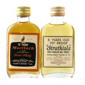 Speyside Selection 1970s 2 x Miniature