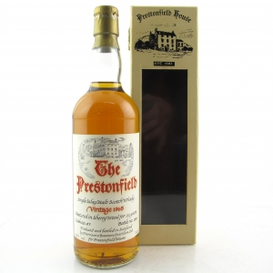 Bowmore 1965 Prestonfield 22 Year Old
