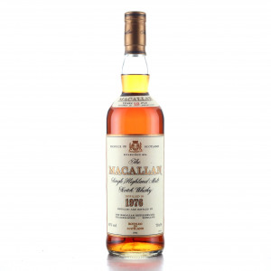 Macallan 1976 18 Year Old