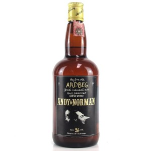 Ardbeg 1965 Cadenhead's 24 Year Old / Andy and Norman - One of 20 Bottles