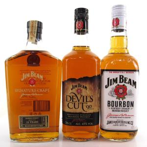 Jim Beam Selection 3 x 70cl