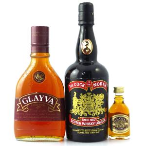 Cock of the North and Glayva Whisky Liqueurs x 2 / with Glayva Miniature 5cl