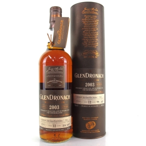 Glendronach 2003 Single Cask 12 Year Old #1823 / Netherlands Exclusive
