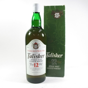 Talisker 12 Year Old 1 Litre Circa 1980s