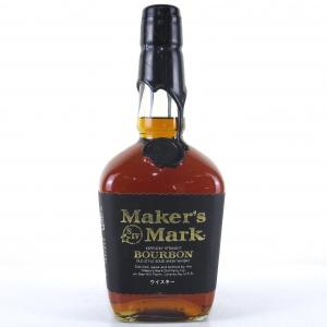 Maker's Mark Black Label Kentucky Straight Bourbon / Japanese Import