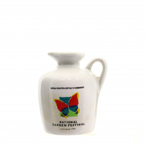 Bowmore 10 Year Old National Garden Festival Decanter 1990 Miniature