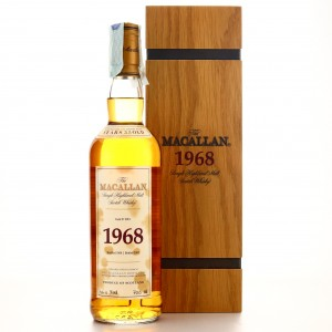 Macallan 1968 Fine and Rare 33 Year Old