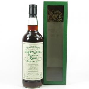 Cadenhead's 1975 Green Label Demerarara Rum