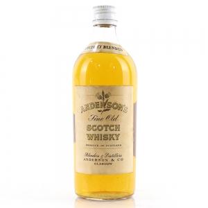 Anderson's Fine Old Scotch Whisky circa 1960s