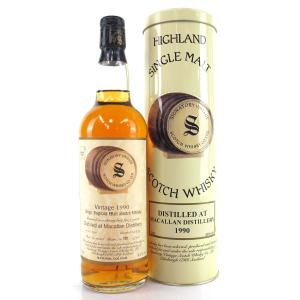 Macallan 1990 Signatory Vintage 9 Year Old