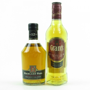 Highland Park 12 Year Old / Grant's 2 x 35cl