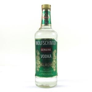 Wolfschmidt Vodka 1980s