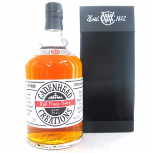 Cadenhead Creations 36 Year Old Rich Fruity Sherry Batch #2