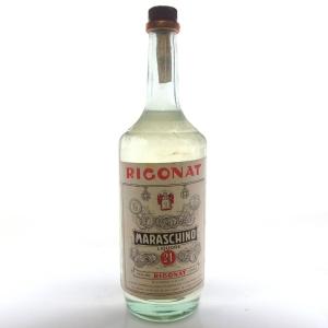 Rigonat Maraschino Liquore 1 Litre Circa 1970s