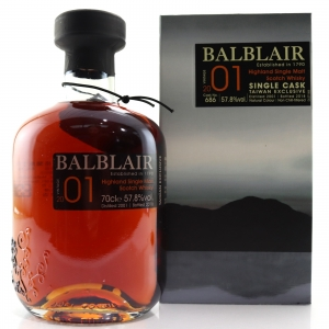 Balblair 2001 Single Cask #686 / Taiwan Exclusive