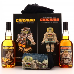 Chichibu Intergalactic Editions 1 & 2 / 2 x 70cl with T-Shirt & Tote Bag