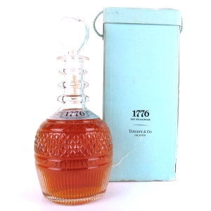 Seagram 1776 Premium American Whiskey 1970s / Tiffany Decanter